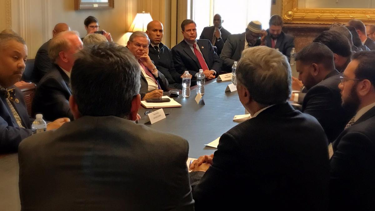 Donald Norcross Meets with Muslim Leaders